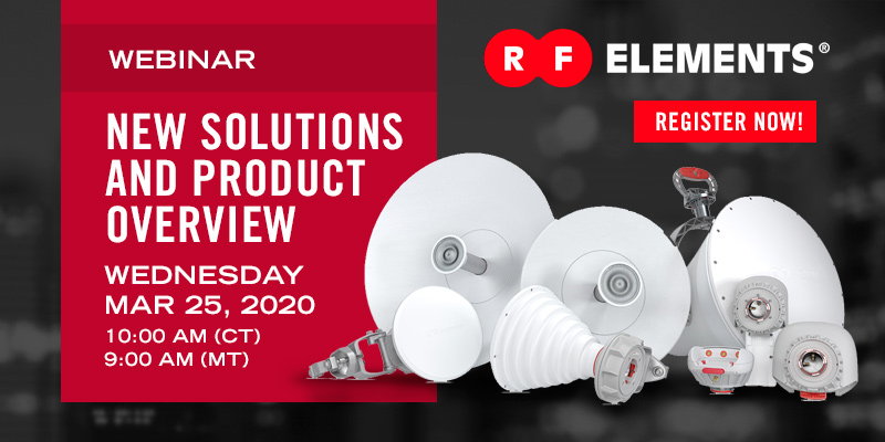 Webinar Wednesday: New Solutions and Product Overview